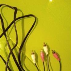 Segunda Mano: CABLE AUDIO STEREO RCA RCA. Lote 279576263