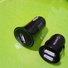 Segunda Mano: ADAPTADOR USB PARA MECHERO DE COCHE. Lote 279577308