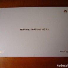 Segunda Mano: CAJA VACIA TABLET HUAWEI MEDIAPAD M5 LITE 10. Lote 280127313