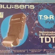 Segunda Mano: SINTONIZADOR Y GRABADOR TDT - BLUSENS, T.9-R-PVR. Lote 280734578