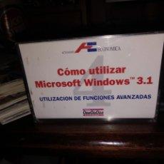 Segunda Mano: COMO UTILIZAR WINDOWS 3.1. Lote 280880403