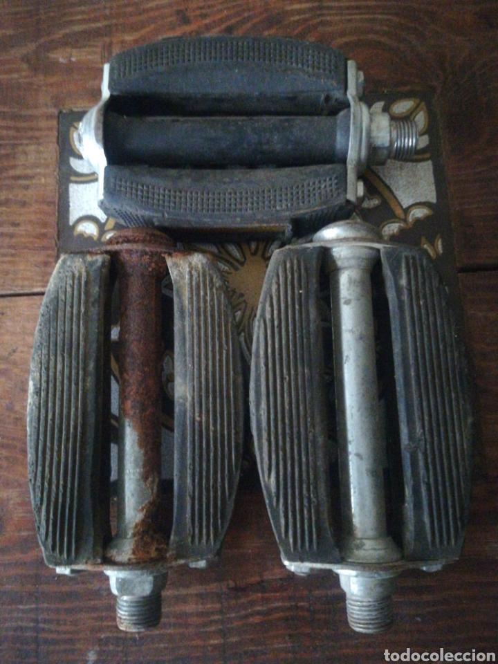 Segunda Mano: Dos pedales Notario bicicleta varillas antiguos - Foto 3 - 283968088