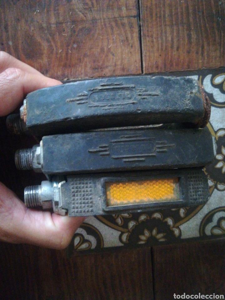 Segunda Mano: Dos pedales Notario bicicleta varillas antiguos - Foto 6 - 283968088