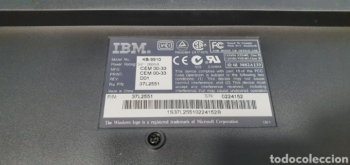 Segunda Mano: TECLADO IBM MOD. KB-9910 - Foto 9 - 286820078