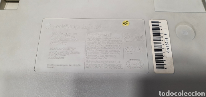 Segunda Mano: ANTIGUO TECLADO APPLE KEYBOARD MOD. M2980 - Foto 11 - 286820223