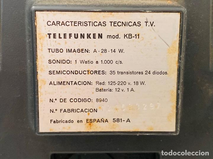 Segunda Mano: Telefunken Starlet KB-11 - Foto 15 - 287714143