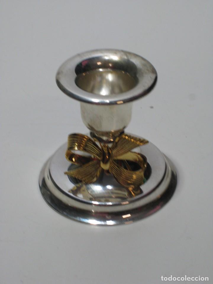 Segunda Mano: Pequeños candelabros de metal - Foto 4 - 287723928