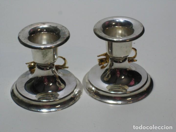 Segunda Mano: Pequeños candelabros de metal - Foto 5 - 287723928