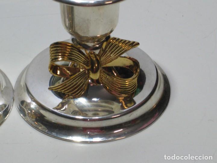 Segunda Mano: Pequeños candelabros de metal - Foto 7 - 287723928