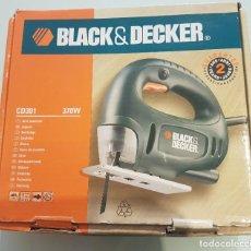 Segunda Mano: SIERRA CALADORA BLACK & DECKER COMO NUEVA. Lote 287889743