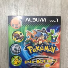 Segunda Mão: ALBUM CON 74 PICKERS DE POKEMON VOL. 1 MAGIC BOX INT. Lote 287979883