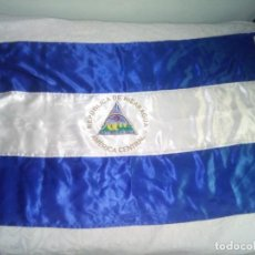 Seconda Mano: REPUBLICA DE NICARAGUA; AMERIA CENTRAL; BANDERA DE TELA. Lote 288637088