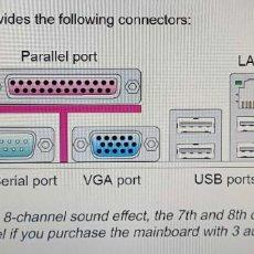 Segunda Mano: PC MSI G41M4, PENTIUM III XEON, 2600GHZ, 2GB RAM DDR2 667/800MHZ, WINDOWS 7 32 BITS. Lote 289450328