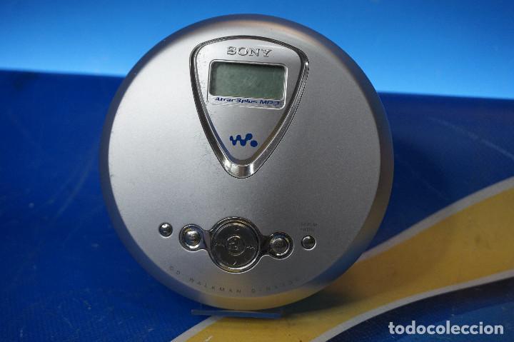 DISCMAN SONY ATRAC3PLUS MP3. CD WALKMAN D-NE300. FUNCIONA. NO INCLUYE AURICULARES NI CABLE DE CARGA. (Segunda Mano - Artículos de electrónica)