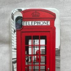 Segunda Mano: FUNDA IPHONE XS CABINA TELÉFONO LONDRES. Lote 295826313