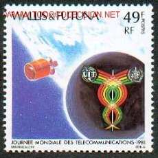 Sellos: WALLIS & FUTUNA - DIA MUNDIAL DE LAS TELECOMUNICACIONES BAJO EL LEMA . Lote 111871