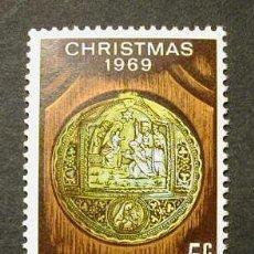 Sellos: NORFOLK ISLAS 1969 NAVIDAD - YVERT 104. Lote 8329422