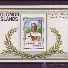 Sellos: SALOMON HB 31*** - AÑO 1992 - CENTENARIO DEL NACIMIENTO DE SIR JACOB VOUZA. Lote 16652554