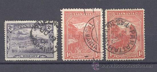 TASMANIA, MUY RAROS (Sellos - Extranjero - Oceanía - Otros paises)