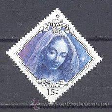 Sellos: TUVALU, ISLAS- NAVIDAD 1988-NUEVO. Lote 21824430