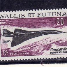 Sellos: WALLIS ET FUTUNA A 32 SIN CHARNELA, AVION SUPERSONICO -CONCORDE-. Lote 26594345
