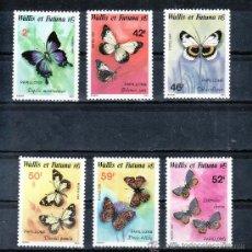 Sellos: WALLIS ET FUTUNA 353/8 SIN CHARNELA, FAUNA, MARIPOSAS, . Lote 26206092