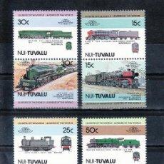 Sellos - tuvalu-nui 1/8 sin charnela, locomotora, ff.cc., - 23873080