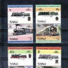 Sellos - tuvalu 259/66 sin charnela, locomotora, ff.cc., - 23873383