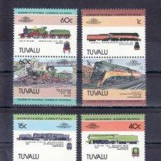 Sellos - tuvalu 223/30 sin charnela, locomotora, ff.cc, - 23873478