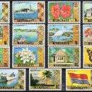 Sellos: KIRIBATI AÑO 1981 YV 1/15*** FAUNA - AVES - PECES - MARIPOSAS - FLORA - BARCOS - BANDERAS. Lote 27099557