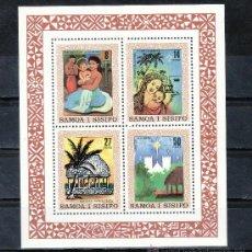 Stamps - samoa hb 24 sin charnela, navidad, - 24337874
