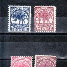 Sellos: SAMOA 13/6 SIN GOMA, PALMERA, . Lote 24338274