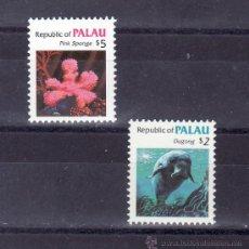 Sellos: PALAU 55/6 SIN CHARNELA, FAUNA MARINA . Lote 24504496