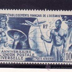 Sellos: OCEANIA A 29 CON CHARNELA, U.P.U., AVION, 75º ANIVERSARIO DE LA UNION POSTAL UNIVERSAL. Lote 24505076