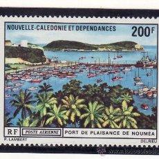 Sellos: NUEVA CALEDONIA A 124 SIN CHARNELA, BARCO, PUERTO DEPORTIVO DE NOUMEA . Lote 24549720