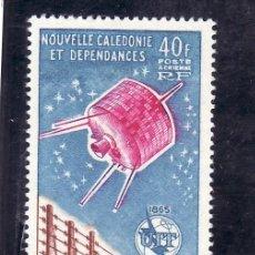 Sellos: NUEVA CALEDONIA A 80 SIN CHARNELA, U.I.T., CENTENARIO UNION INTERNACIONAL DE LAS TELECOMUNICACIONES. Lote 24549800