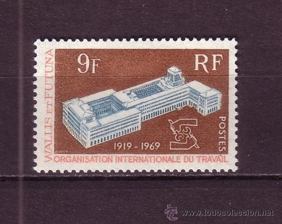 WALLIS Y FUTUNA 175*** - AÑO 1969 - 50º ANIVERSARIO DE LA ORGANIZACION INTERNACIONAL DEL TRABAJO (Sellos - Extranjero - Oceanía - Otros paises)
