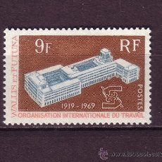 Sellos: WALLIS Y FUTUNA 175*** - AÑO 1969 - 50º ANIVERSARIO DE LA ORGANIZACION INTERNACIONAL DEL TRABAJO. Lote 24625986