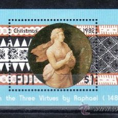 Sellos - fiji hb 4 sin charnela, navidad, pintura, - 25612176