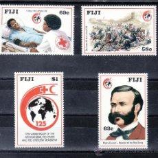 Sellos - fiji 595/8 sin charnela, 125º aniversario de la cruz roja - 25630258