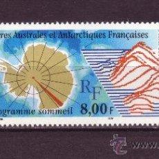 Sellos: TIERRAS AUSTRALES Y ANTARTICAS FRANC. 266*** - AÑO 2000 - PROGRAMA SUEÑO - MAPAS. Lote 27808200