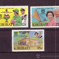 Stamps - KIRIBATI 96/99*** - AÑO 1983 - DIA DE LA COMMONWEALTH - BARCOS - 27876266