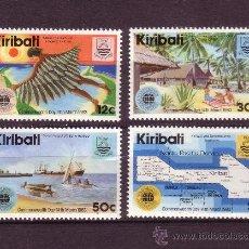 Stamps - KIRIBATI 96/99*** - AÑO 1983 - DIA DE LA COMMONWEALTH - BARCOS - 27876288