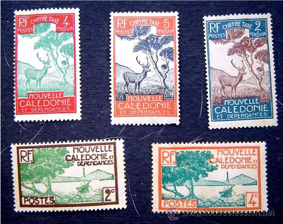 SELLOS NUEVA CALEDONIA - NOUVELLE CALEDONIE - NUEVOS (Sellos - Extranjero - Oceanía - Otros paises)