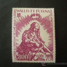 Sellos: WALLIS Y FUTUNA 1989 AEREO IVERT 167 *** NAVIDAD - OBRA DE ALBRECHT DURER. Lote 30888414