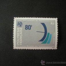 Sellos: POLINESIA 1978 AEREO IVERT 136 *** 10º JORNADA MUNDIAL DE LAS TELECOMUNICACIONES. Lote 31003997