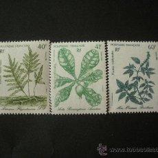 Sellos: POLINESIA 1986 IVERT 268/70 *** PLANTAS MEDICINALES - FLORA. Lote 31004212