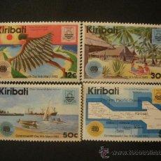 Stamps - Kiribati 1983 Ivert 96/9 *** Día de la Commonwealth - Logo de la Jornada - 32231203