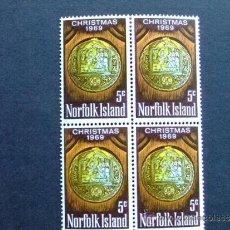 Sellos: NORFOLK ISLAND --OCEANIA AÑO 1969 YV 104 **MNH. Lote 34561064