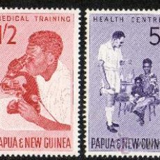 Sellos: PAPUA NUEVA GUINEA AÑO 1964 YV 58/61*** PROPAGANDA A FAVOR DE LA INFANCIA - MEDICINA Y SALUD - NIÑOS. Lote 35019997